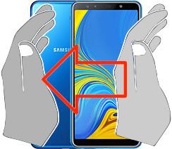 Capture d'écran sur  Samsung Galaxy A7 (2018)