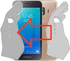 Capture d'écran sur  Samsung Galaxy J2 Core
